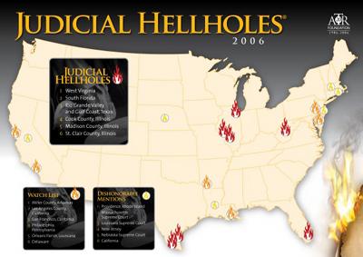 Louisiana Lands On 'Judicial Hellholes' Watch List Again
